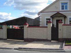 Откатные ворота в частный дом