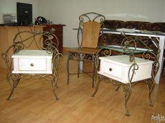 Эксклюзивные кованые стулья