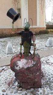 Садовая фигура Кузнечик