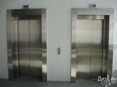 Облицовка лифта нержавейкой