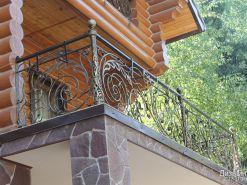 Ограждение для балкона в частный дом